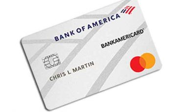 Bank of America BankAmericard Credit Card for Students