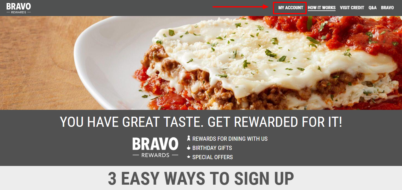 Feast with Bravo and Get Reward