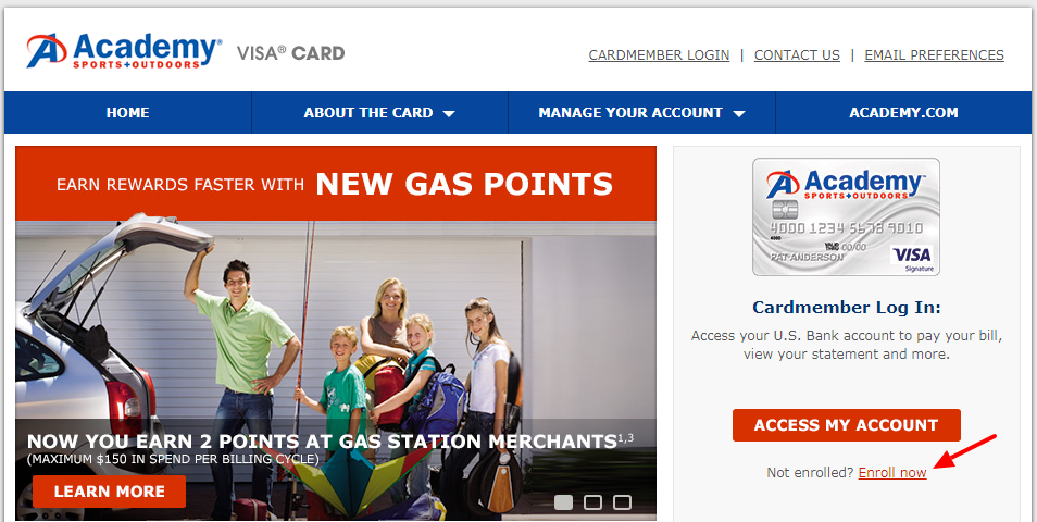 How To apply for Academy Sports + Outdoors Signature Visa Credit Card