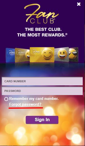 How to Reset Forgotten Password Fan Club