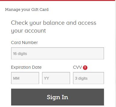 Manage-Vanilla-Visa-Gift-Card-Online