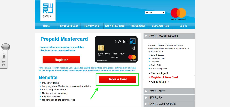 The Best Prepaid MasterCard In Ireland _ SWIRL