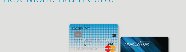 Momentum Reloadable Prepaid Card Logo