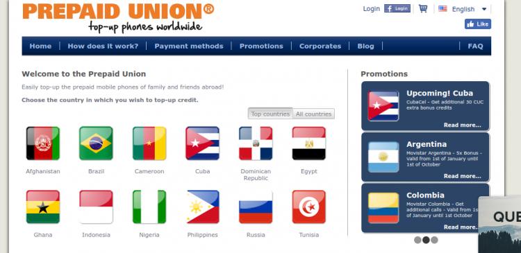 Prepaid Union Logo