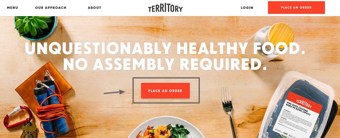 Territory Chef-Prepared Meal Delivery