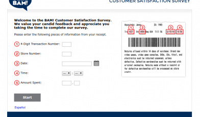 BAM Customer Satisfaction Survey