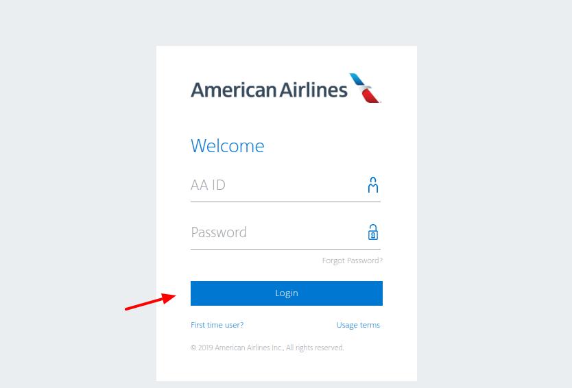 American Airlines - Login