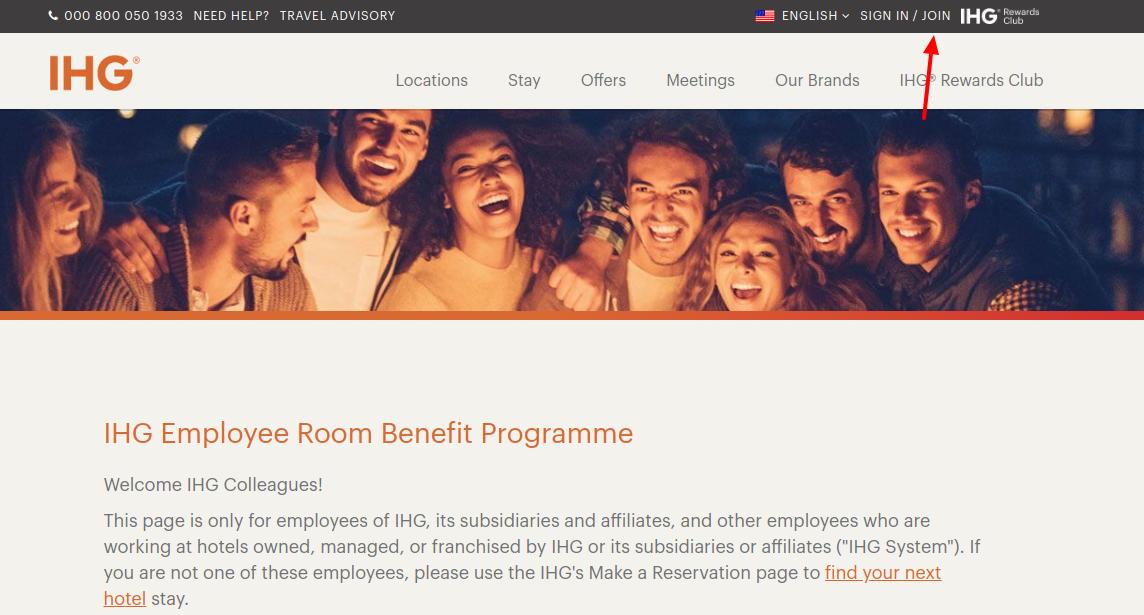 IHG Employee Join