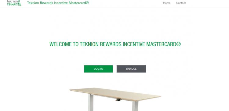 Teknion Rewards Incentive Mastercard Logo