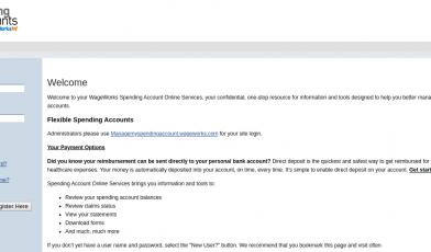 Login - Spending Accounts