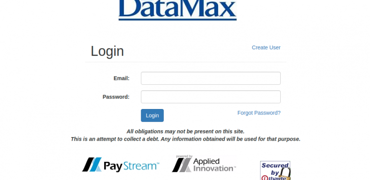 PayStream DataMax Logo