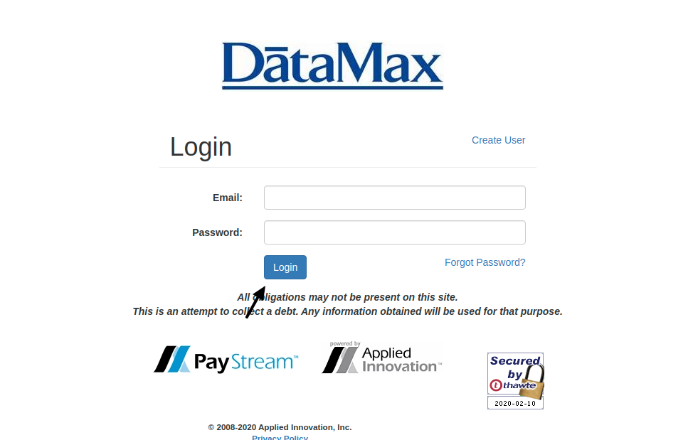 PayStream Login