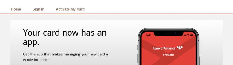 Bank of America EDD Debit Card Logo
