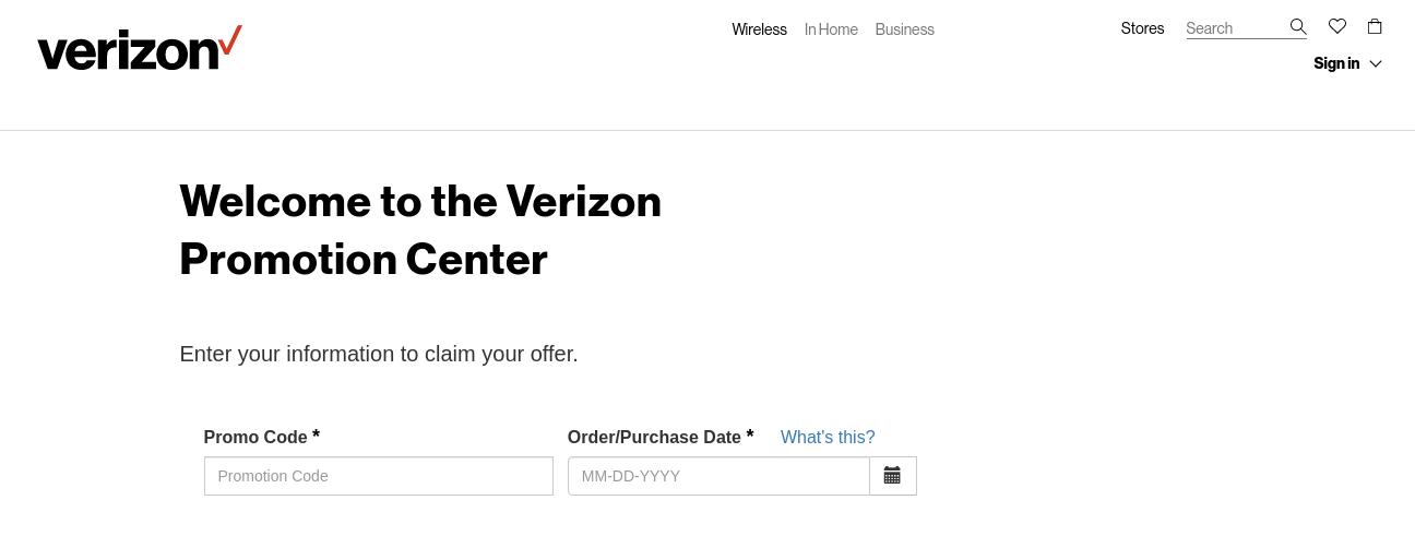 Verizon Wireless National Rewards Center