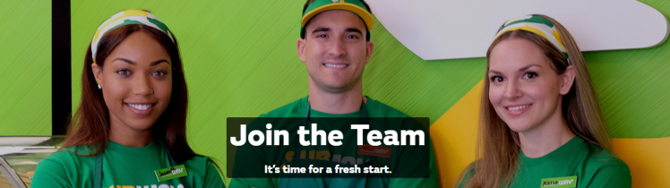 subway job apply online