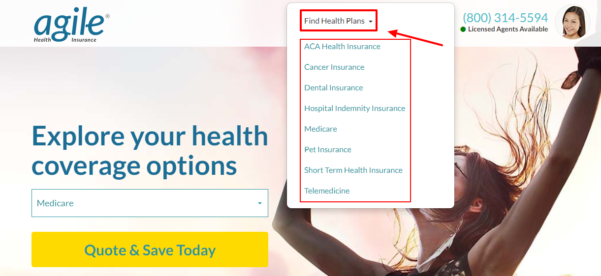 Find your Health Plans with Agile Health Insurances