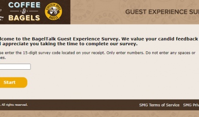 Take Bagel Feedback Survey
