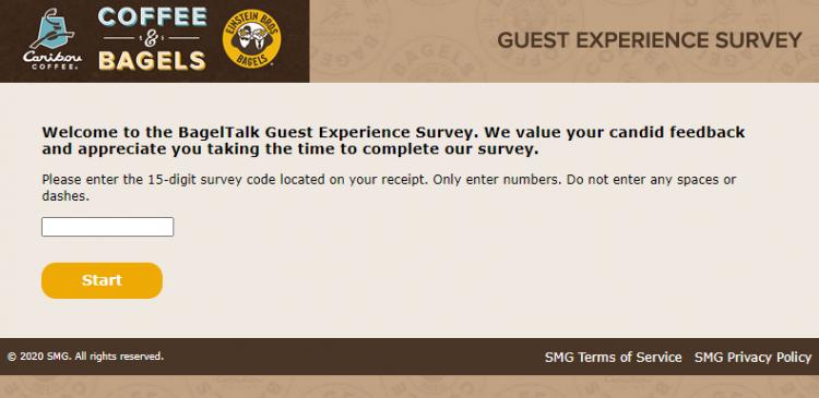 Take Bagel Feedback Survey