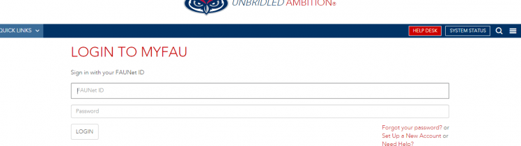 My FAU EDU Login
