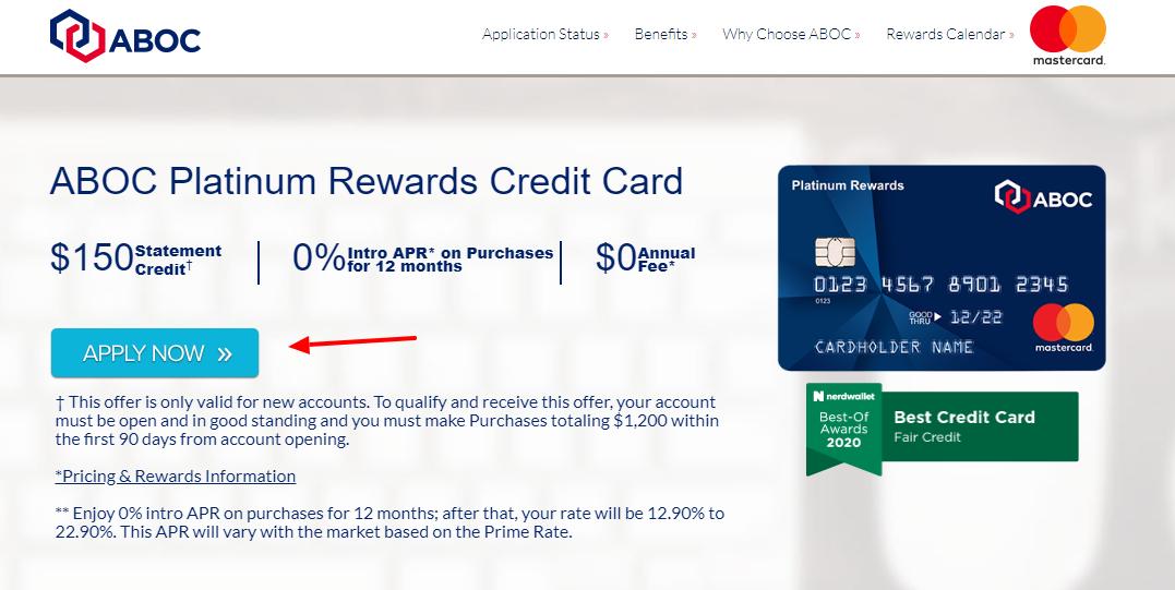 ABOC Mastercard Apply