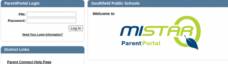 Southfield Parent Portal Logo