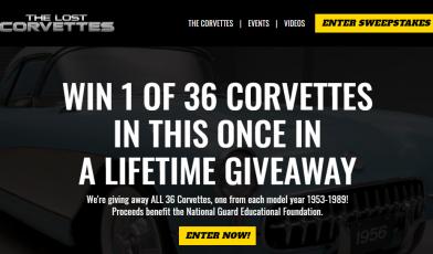 The Lost Corvettes Survey