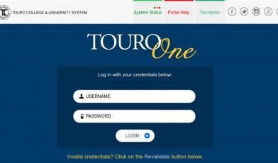 TouroOne Portal Logo