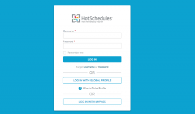 HotSchedules-Login
