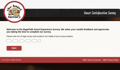 BagelTalk Guest Survey