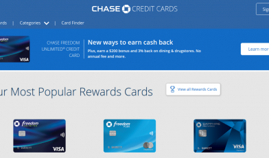 Chase Credit Card Logo