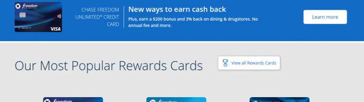 Chase Credit Card Logo