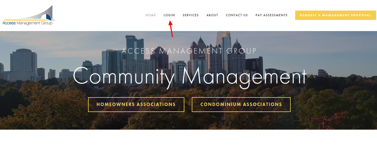 Access Management Login