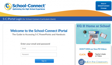 Iportal School Connect Login