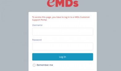 emds support login