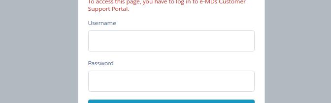 emds support login