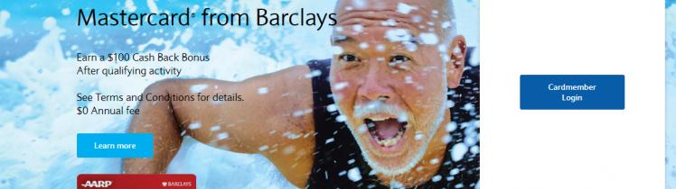 barclaycard login