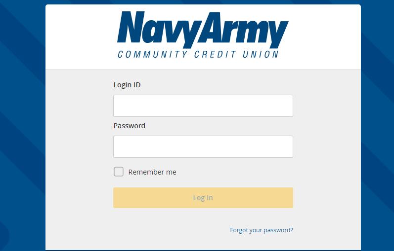 navy army community credit union login