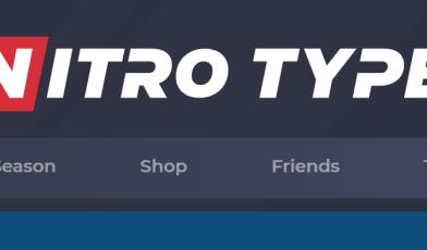 nitro type race logo