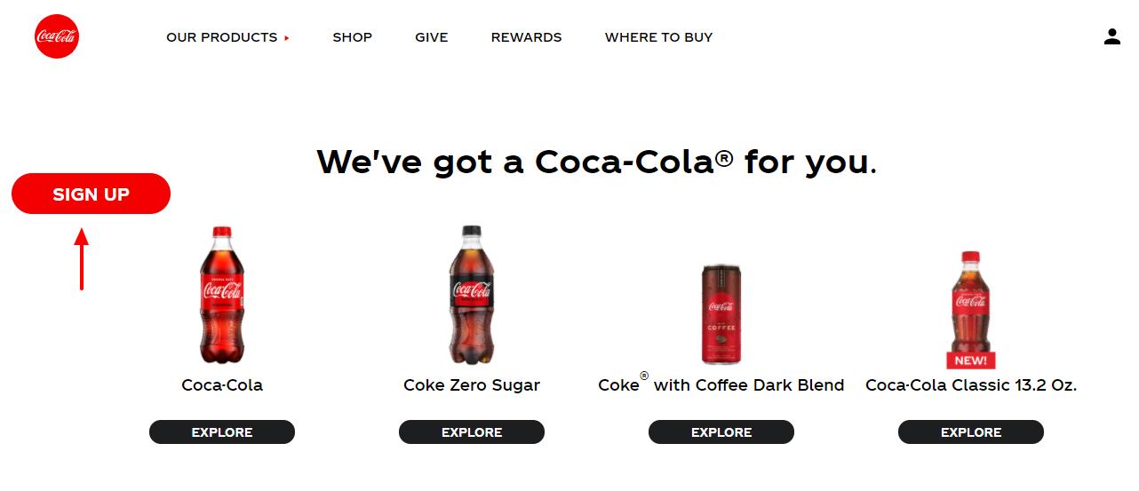 coca-cola summer taste better sign up