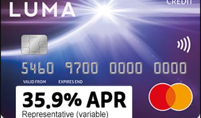 luma card